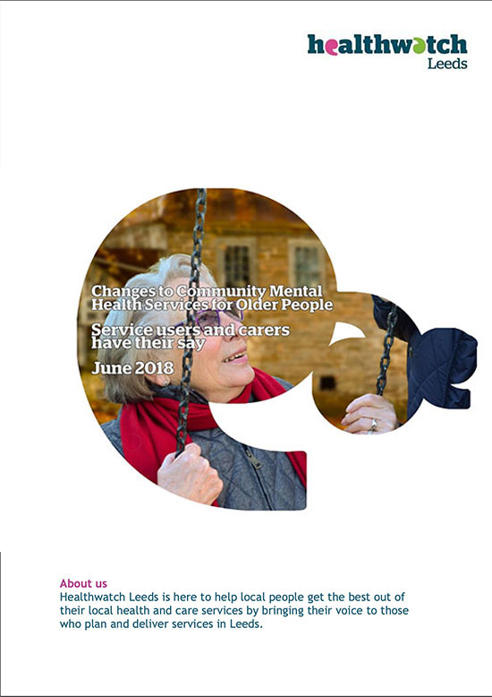 Report cover image older peoples mental health