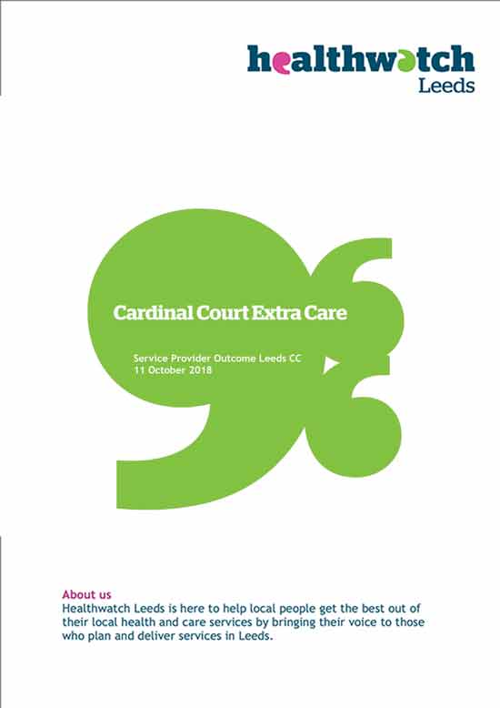 Cardinal Court Outcome report (image)
